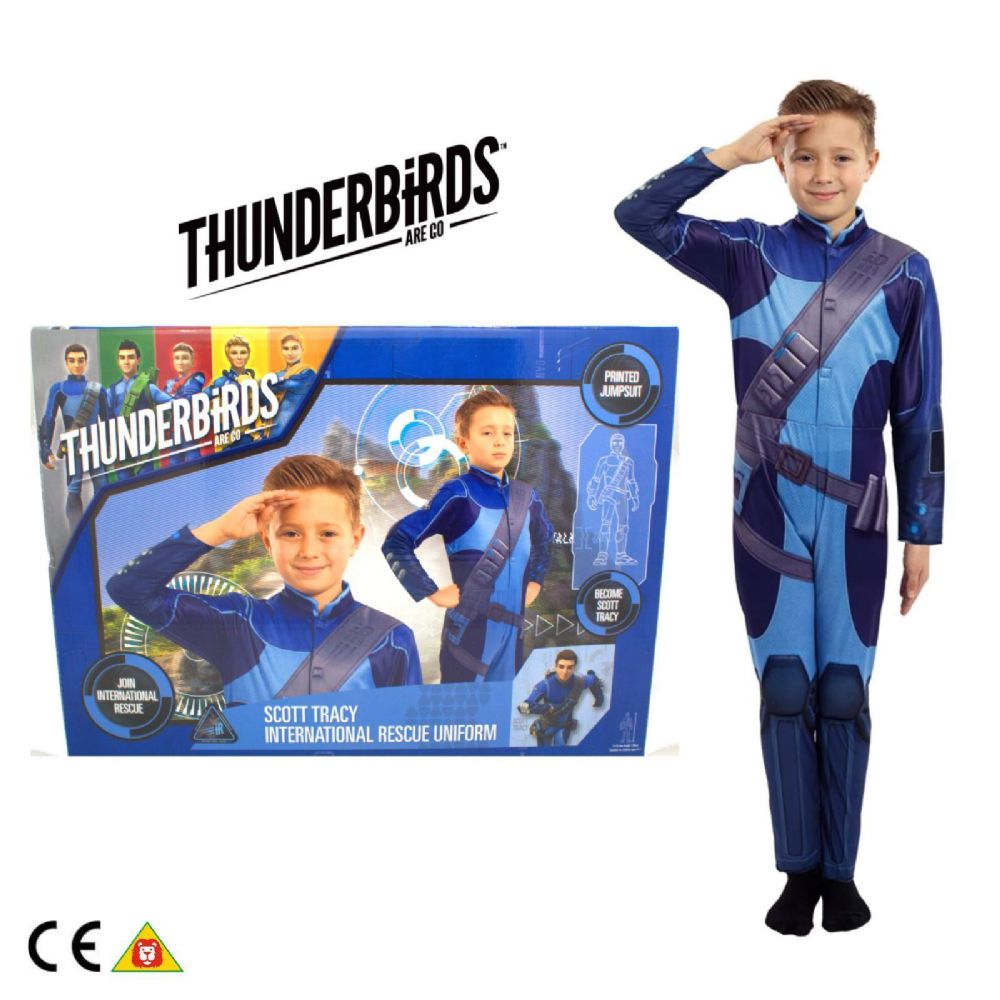 Thunderbirds Are Go Scott Tracy Uniform Dress Up Role play 2015 Range 90297